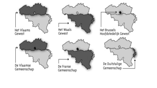 gemeenschappen en gewesten